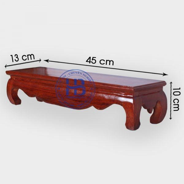 Đế kê khung ảnh thờ đôi gỗ Hương 45cm đẹp giá rẻ ở Hà Nội