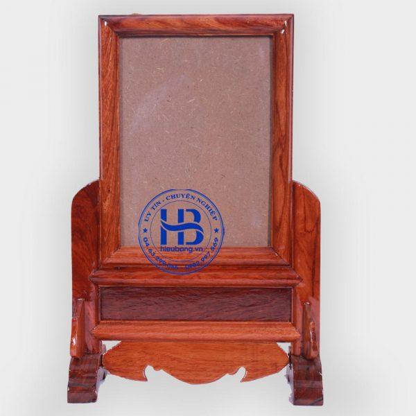 khung ảnh thờ gỗ hương 13x18cm