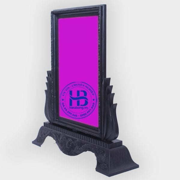khung ảnh thờ nhựa đen