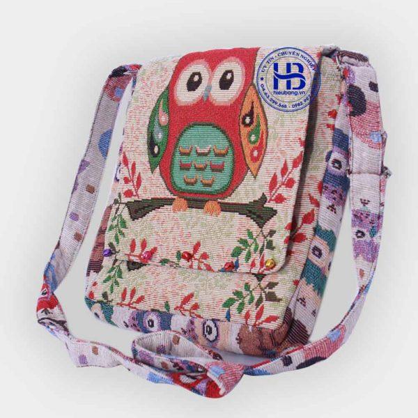 túi đeo sinh viên chuông hình cú