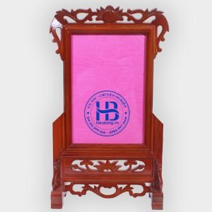 khung ảnh thờ gỗ gụ