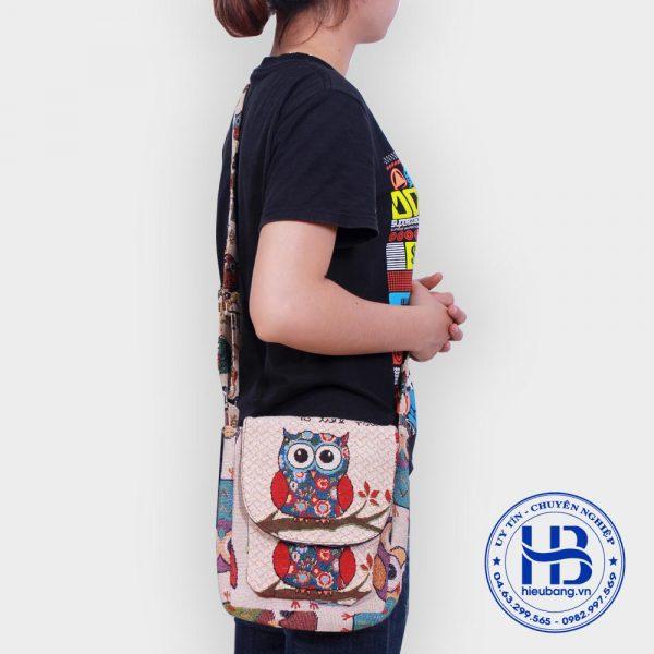 Túi đeo mẹ con hình cú