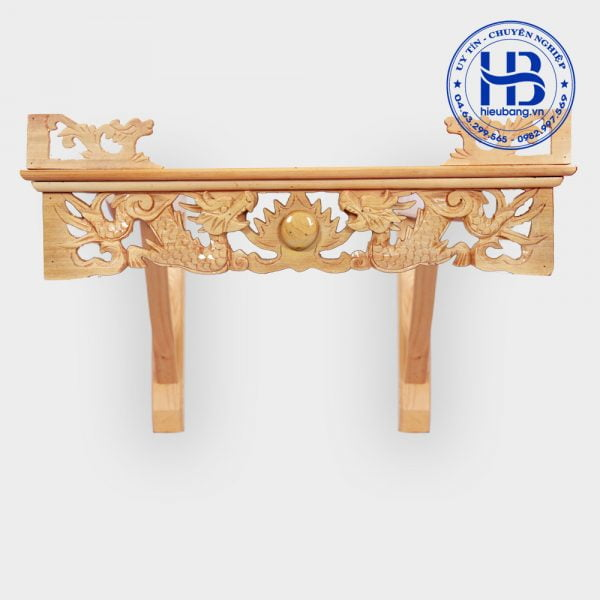 bàn thờ treo tường đẹp 60cm x 40cm