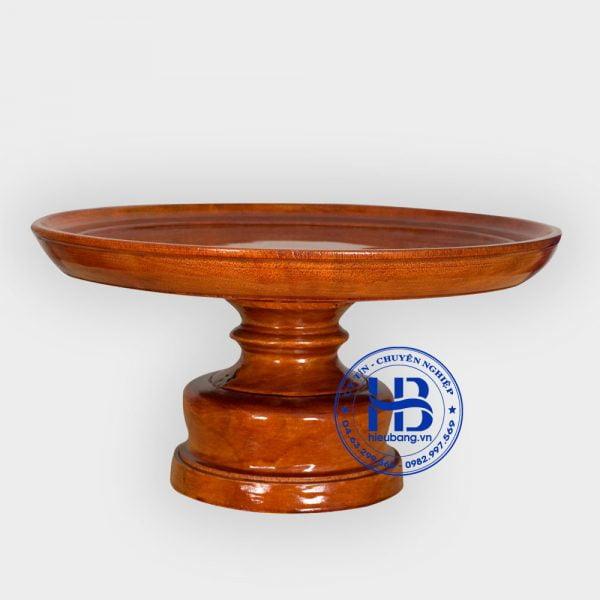 mâm bồng bằng gỗ xà cừ