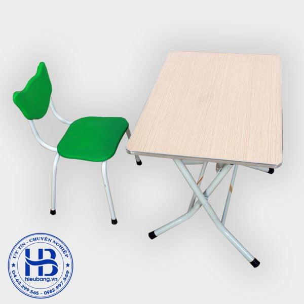 Bàn ghế học sinh giá rẻ 50x70cm