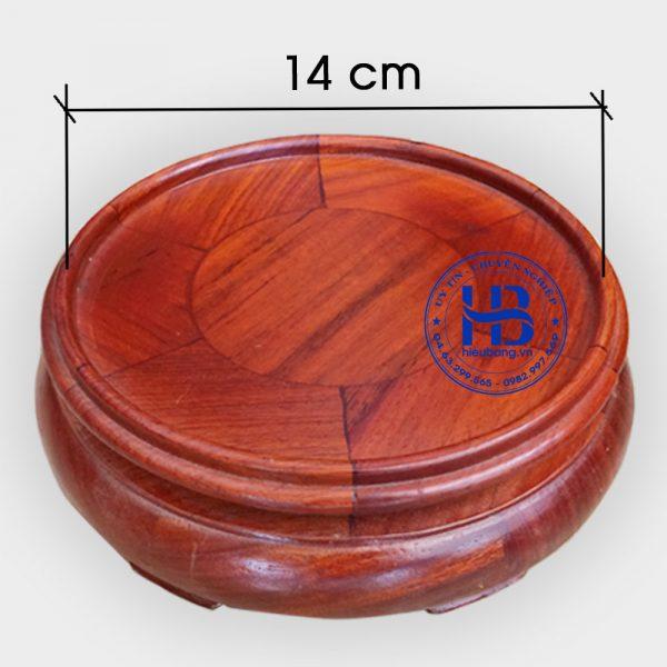 Đế kê bát hương đường kính 14cm