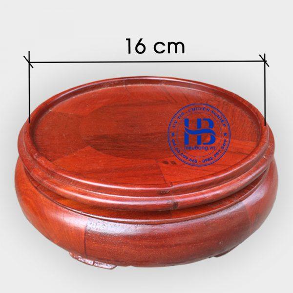 Đế kê bát hương đường kính 16cm