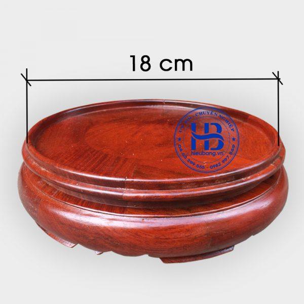 Chân đế kê bát hương đường kính 18cm