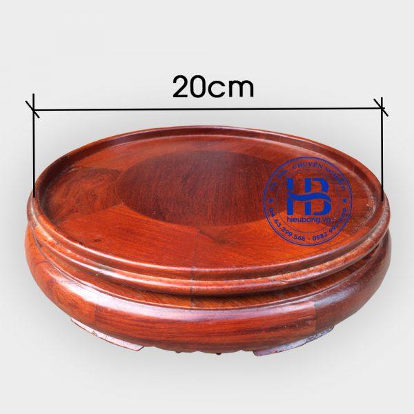 Đế kê bát hương đường kính 20cm