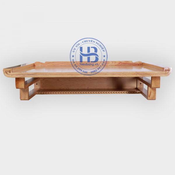 mẫu bàn thờ treo tường