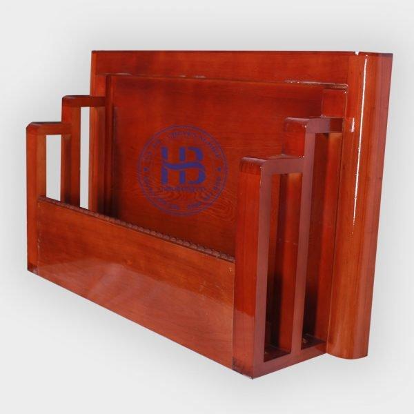 bàn thờ treo tường chung cư màu gụ