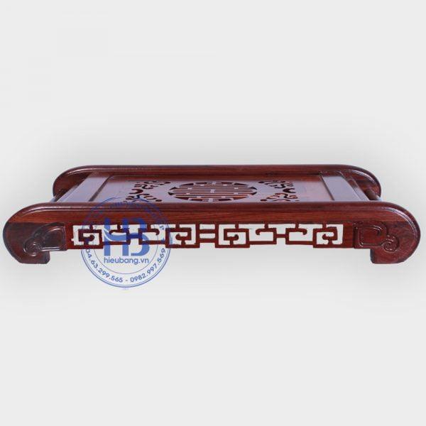 Khay trà bằng gỗ cẩm