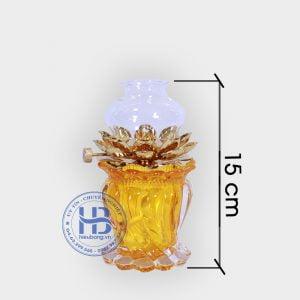 đèn dầu thờ cúng vàng