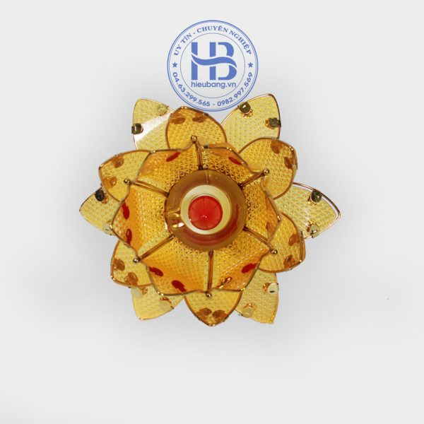 Đèn hoa sen để bàn thờ 1 bông 30cm