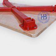 Bàn gấp gỗ ghép tấm 40x60cm