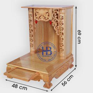 Bàn Thờ Thần Tài 48cm Đẹp Giá Rẻ Tại Hà Nội