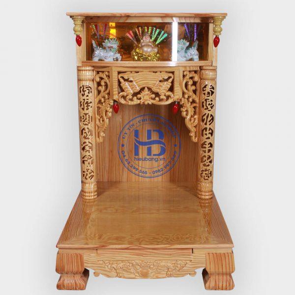Bàn Thờ Thần Tài Đẹp 56cm Giá Rẻ Tại Hà Nội
