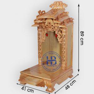 Bàn thờ thần tài ông địa mái dốc 41cm