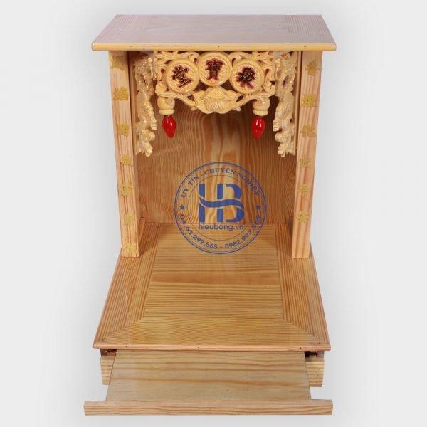 Bàn Thờ Thần Tài Giá Rẻ Cột Chữ 36cm Đẹp ở Hà Nội | hieubang.vn