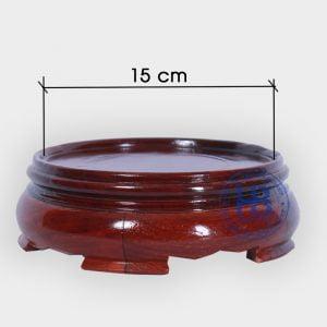 Đế kê bát hương gỗ hương 15cm đẹp giá rẻ tại Hà Nội