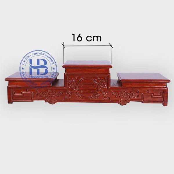 Tam Cấp Gỗ Hương 16cm Đẹp ở Hà Nội