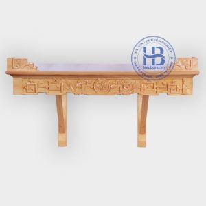 Bàn Thờ Phật Treo Tường | Địa chỉ mua bàn thờ đẹp giá rẻ ở Hà Nội