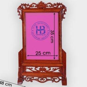 Khung Ảnh Thờ Gỗ Hương 20x35cm Đẹp Giá Rẻ ở Hà Nội