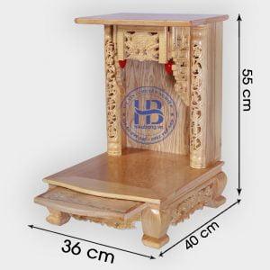 Bàn thờ thần tài 36cm Đẹp Giá Rẻ ở Hà Nội Cửa hàng Hiếu Bằng