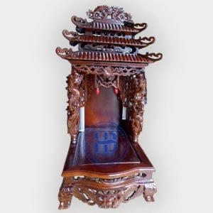 Bàn Thờ Thần Tài Gỗ Phay 48cm Đẹp Giá Rẻ ở Hà Nội   Cửa hàng Hiếu Bằng