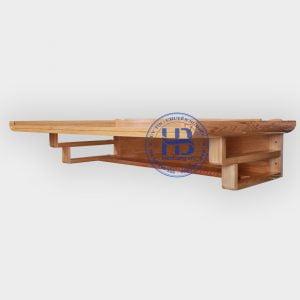 Bàn Thờ Treo Tường Chung Cư 107x61cm Đẹp Giá Rẻ ở Hà Nội | Cửa hàng Hiếu Bằng
