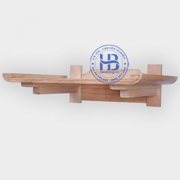 Bàn Thờ Treo Tường Gỗ Sồi Chân Liền 69x48cm Đẹp Giá Rẻ ở Hà Nội | Cửa hàng Hiếu Bằng