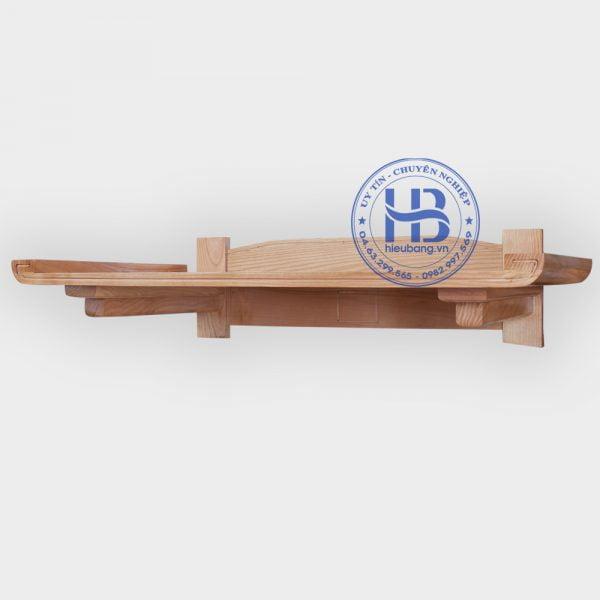 Bàn Thờ Treo Tường Gỗ Sồi Chân Liền 89x48cm Đẹp Giá Rẻ ở Hà Nội | Cửa hàng Hiếu Bằng