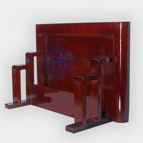 Bàn Thờ Treo Tường Hiện Đại Màu Gụ 61x41cm Đẹp Giá Rẻ ở Hà Nội | Cửa hàng Hiếu Bằng