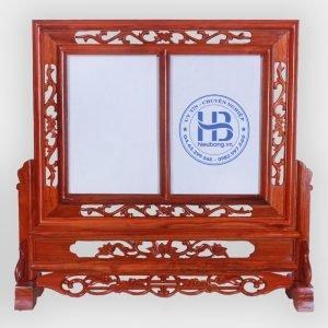 Khung Ảnh Thờ Kép Đôi Gỗ Hương 25x35cm Đẹp Giá Rẻ ở Hà Nội   Cửa hàng Hiếu Bằng