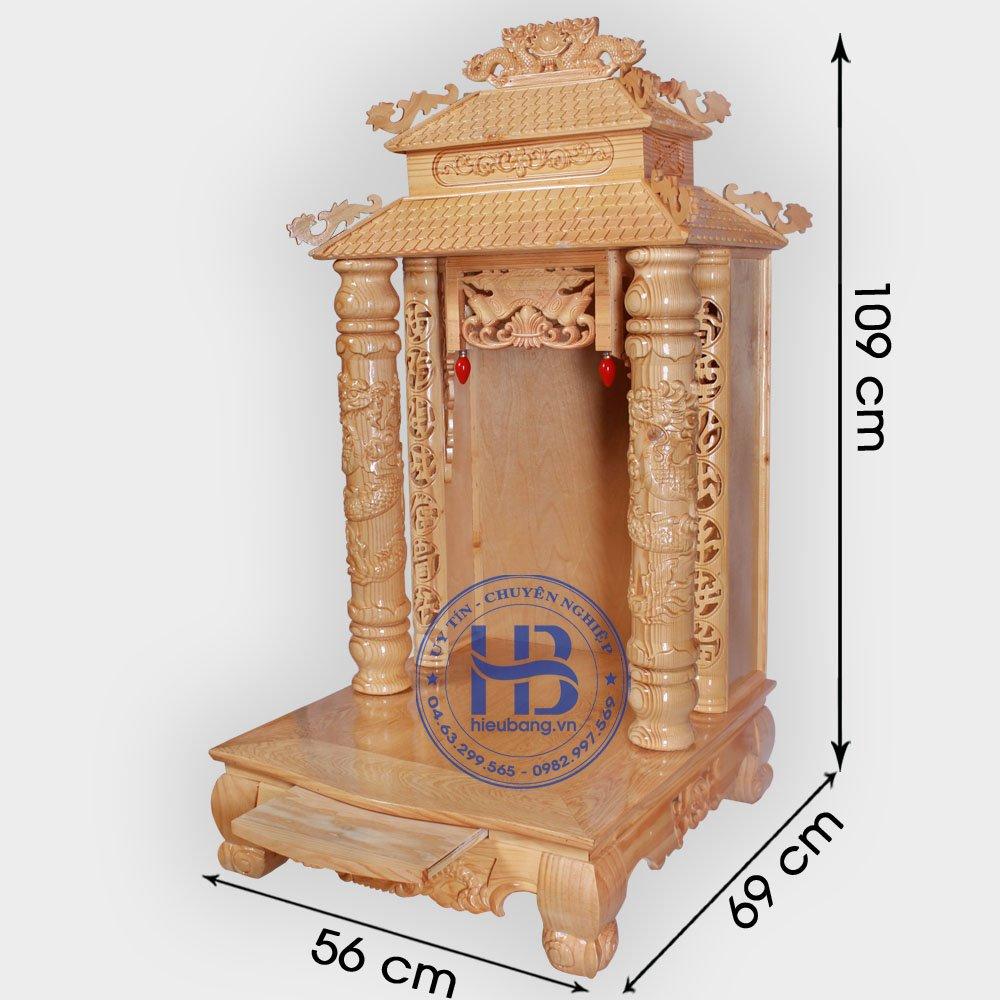 Bàn Thờ Thần Tài 8 Mái 56cm Đẹp Giá Rẻ ở Hà Nội | Cửa hàng Hiếu Bằng