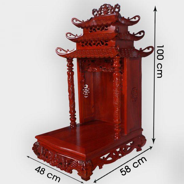 Bàn Thờ Thần Tài Gỗ Gụ Đẹp Giá Gốc ở Hà Nội | Cửa hàng Hiếu Bằng