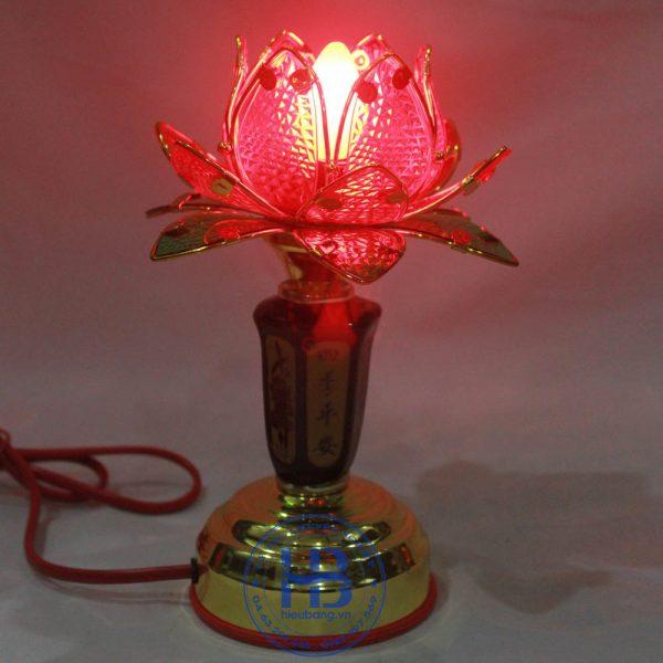 Đèn Thờ Cúng Hoa Sen 1 Bông Đỏ 20cm Đẹp Giá Rẻ ở Hà Nội | Cửa hàng Hiếu Bằng