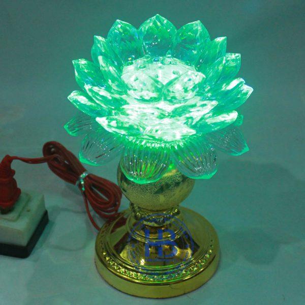 Đèn Thờ Led Hoa Sen 1 Bông 18cm Đẹp Giá Rẻ ở Hà Nội | Cửa hàng Hiếu Bằng