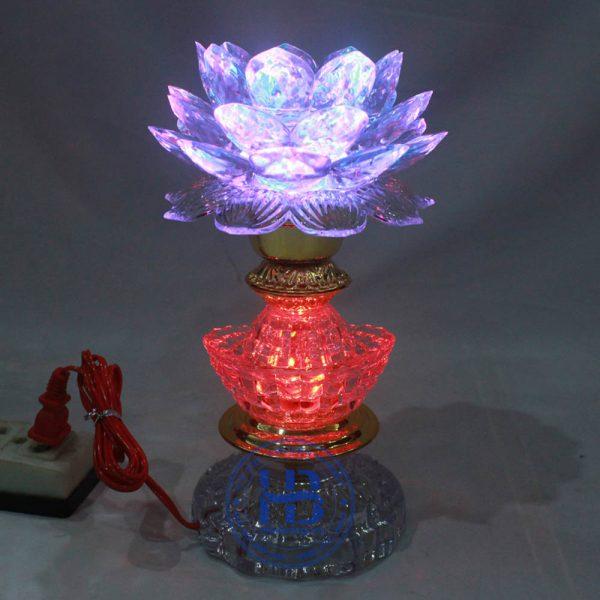 Đèn Thờ Led Hoa Sen 1 bông 23cm Đẹp Giá Rẻ ở Hà Nội | Cửa hàng Hiếu Bằng