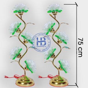 Đèn Thờ Led Hoa Sen 5 Bông 75cm Đẹp Giá Rẻ ở Hà Nội | Cửa hàng Hiếu bằng