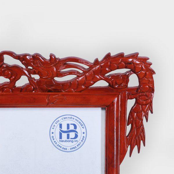 Khung Ảnh Thờ Đôi Gỗ Hương Đục Rồng 20x30cm Đẹp Giá Gốc ở Hà Nội | Cửa hàng Hiếu Bằng