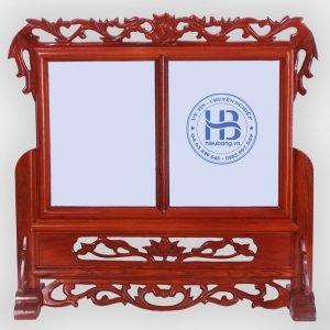 Khung Ảnh Thờ Đôi Gỗ Hương 18x24cm Đẹp Giá Rẻ ở Hà Nội   Cửa hàng Hiếu Bằng