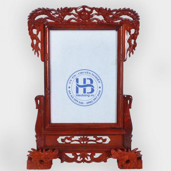 Khung Ảnh Thờ Gỗ Hương Chân Rồng 25x35cm Đẹp Giá Rẻ Ở Hà Nội | Cửa hàng Hiếu Bằng