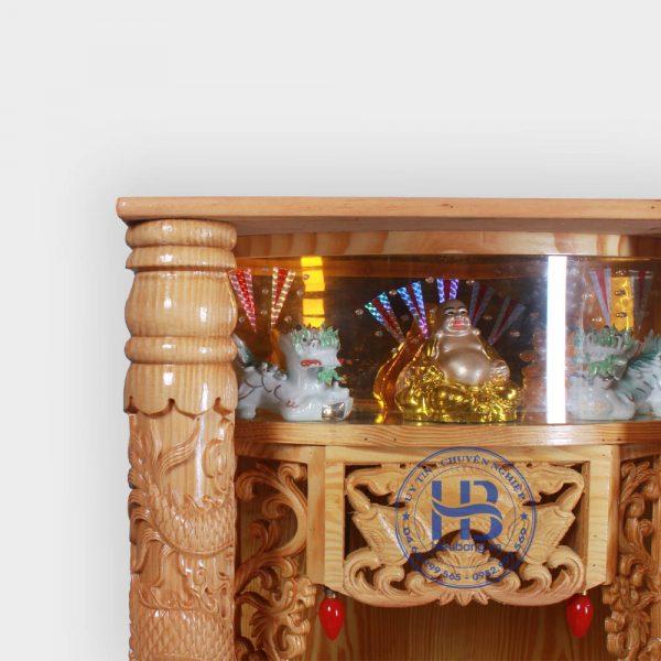 Bàn Thờ Thần Tài Điện Tử Cột Rồng Đẹp Giá Rẻ ở Hà Nội | Cửa hàng Hiếu Bằng