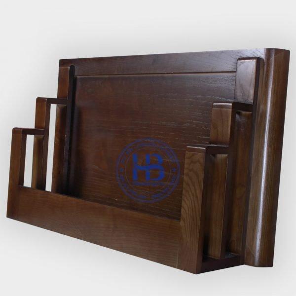 Bàn Thờ Treo Tường Gỗ Sồi Màu Óc Chó 69x48cm Đẹp Giá Rẻ ở Hà Nội   Cửa hàng Hiếu Bằng