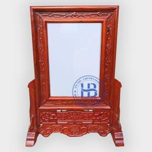 Khung Ảnh Thờ Kép Triện Nền Gỗ Hương 25x35cm Đẹp Giá Gốc ở Hà Nội   Cửa hàng Hiếu Bằng