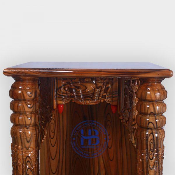 Bàn Thờ Thần Tài Màu Mun Vân 48cm Đẹp Giá Rẻ ở Hà Nội | Cửa hàng Hiếu Bằng