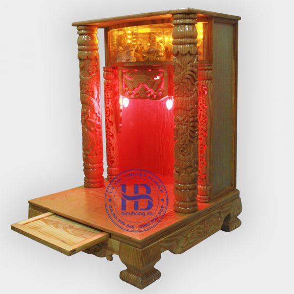 Bàn Thờ Thần Tài Điện Tử Cột Rồng 61cm Đẹp Giá Rẻ ở Hà Nội | Cửa hàng Hiếu Bằng