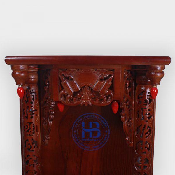 Bàn Thần Tài Gỗ Xoan 48cm Đẹp Giá Rẻ ở Hà Nội | Cửa hàng Hiếu Bằng