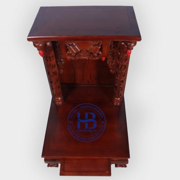 Bàn Thờ Thần Tài Gỗ Xoan 48cm Đẹp Giá Rẻ ở Hà Nội | Cửa hàng Hiếu Bằng